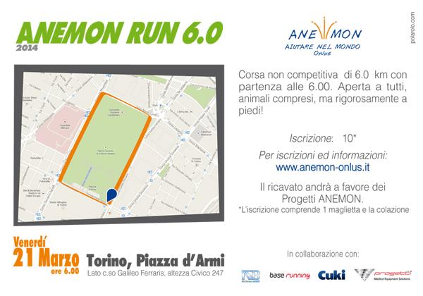 cartolina Anemon Run 6.0