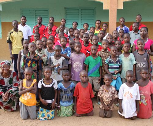 Burkina Faso Scuola Esperance