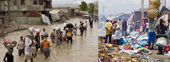 Immagini da Haiti